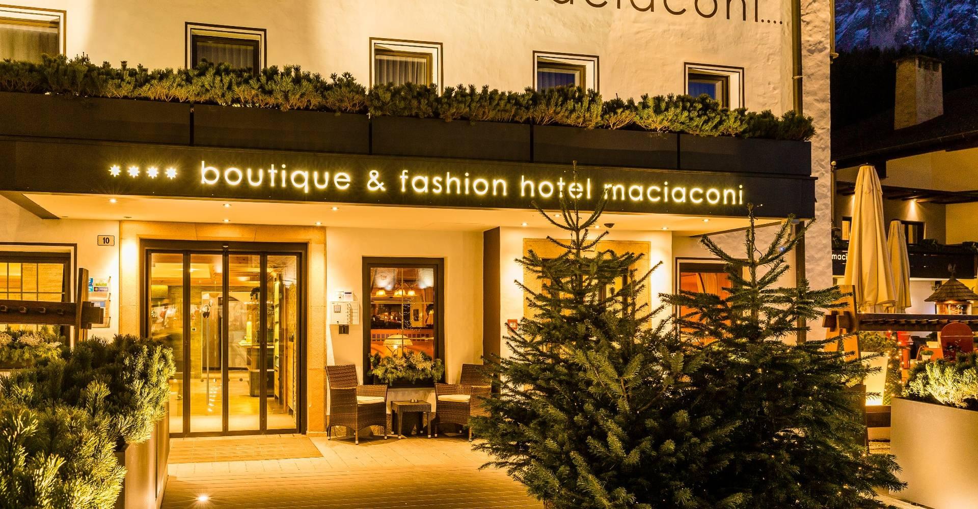 Boutique Fashion Hotel Maciaconi Wolkenstein Gr Den